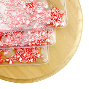Peppermint Candies Shaker Bow Pouch