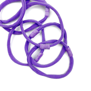 Purple Nylon Interchangeable Headband