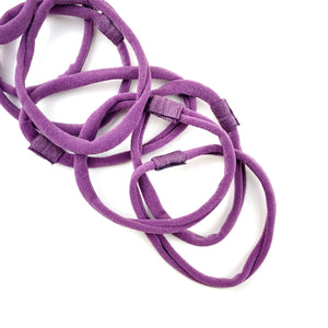 Dusty Purple Nylon Interchangeable Headband