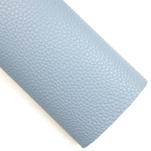 Dusty Blue Pebbled Vegan Leather