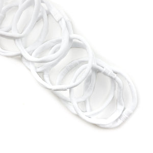 White Nylon Interchangeable Headband