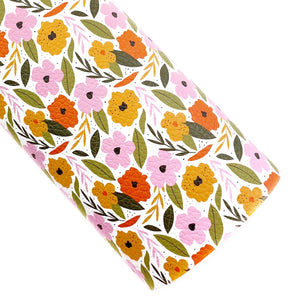 Vintage & Birch Floral Vegan Leather