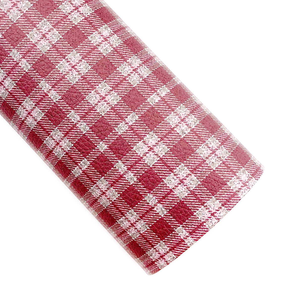 Brick House Tartan Plaid Vegan Leather