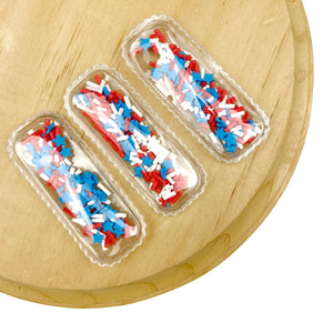 Stars & Stripes Mix Shaker Snap Clip Covers