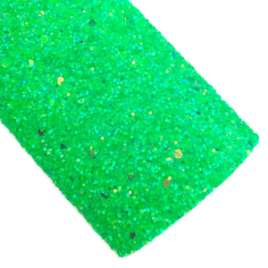 Electric Green Glitter