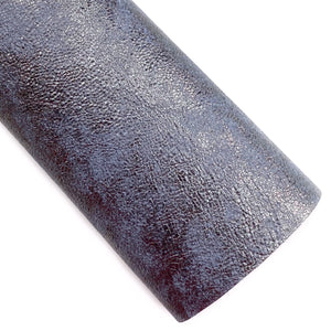 Iron Royal Metallic Embossed Vegan Leather