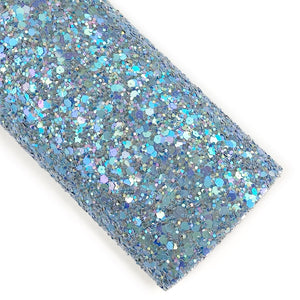 A-Grey-Able Iridescent Chunky Glitter