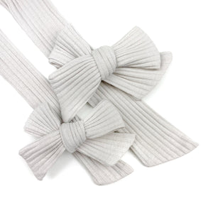 Putty Rib Knit JB Effortless Bow Strips - Closed Edge