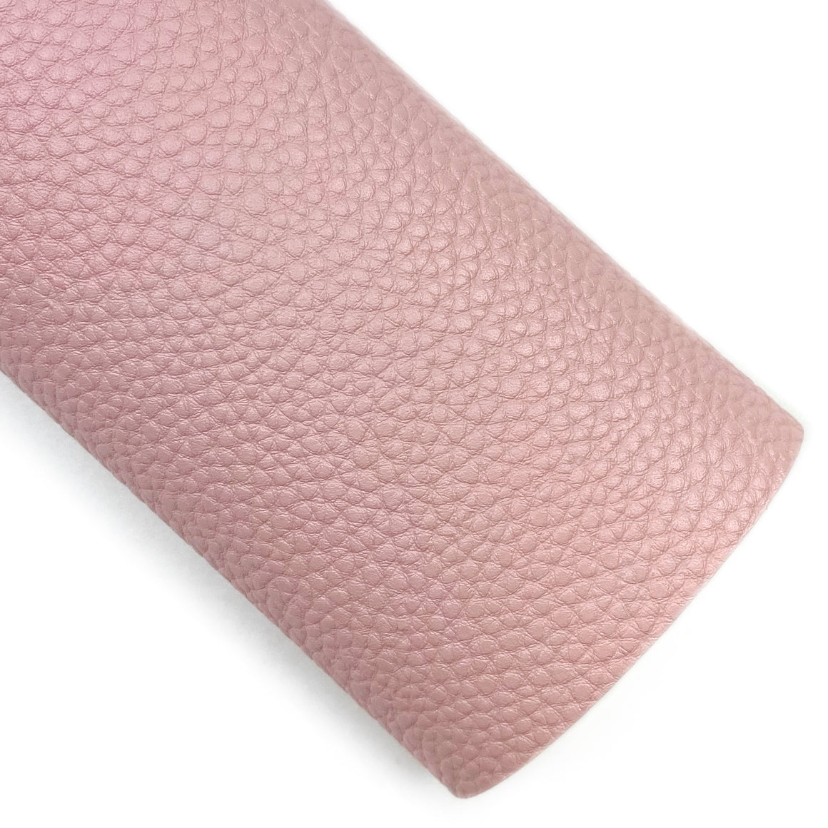 Old Fashion Pink Pebbled Vegan Leather