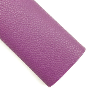 Vintage Plum Pebbled Vegan Leather