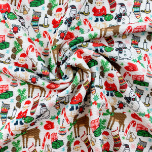 Classic Christmas Characters Bullet Fabric