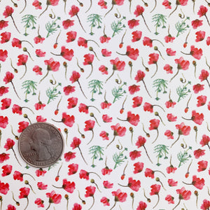 Poppy Field Vegan Leather