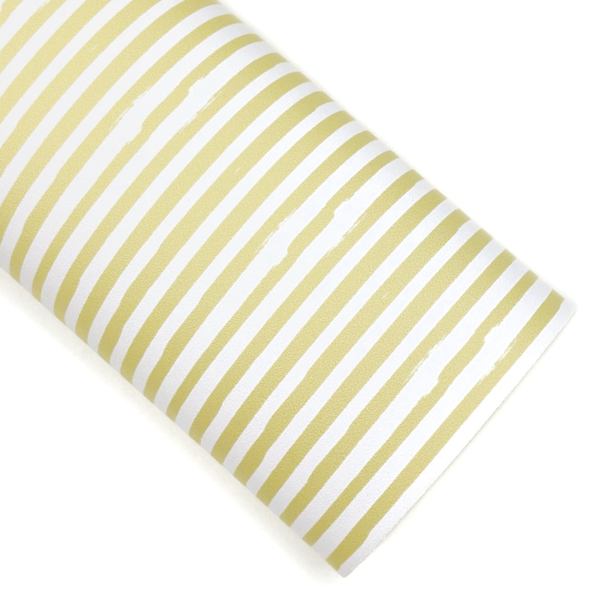 Yellow Flower Shop Stripes Vegan Leather
