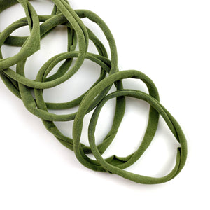 Olive Nylon Head Band