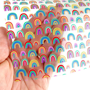 Rainbow Daze Transparent Jelly Vinyl