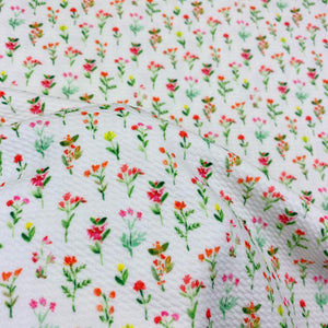 Flower Glossary Bullet Fabric