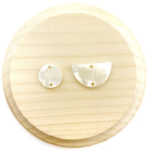 Pearl Earring Connector Pieces