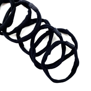 Black Nylon Interchangeable Headband