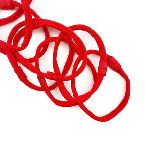 Red Nylon Interchangeable Headband
