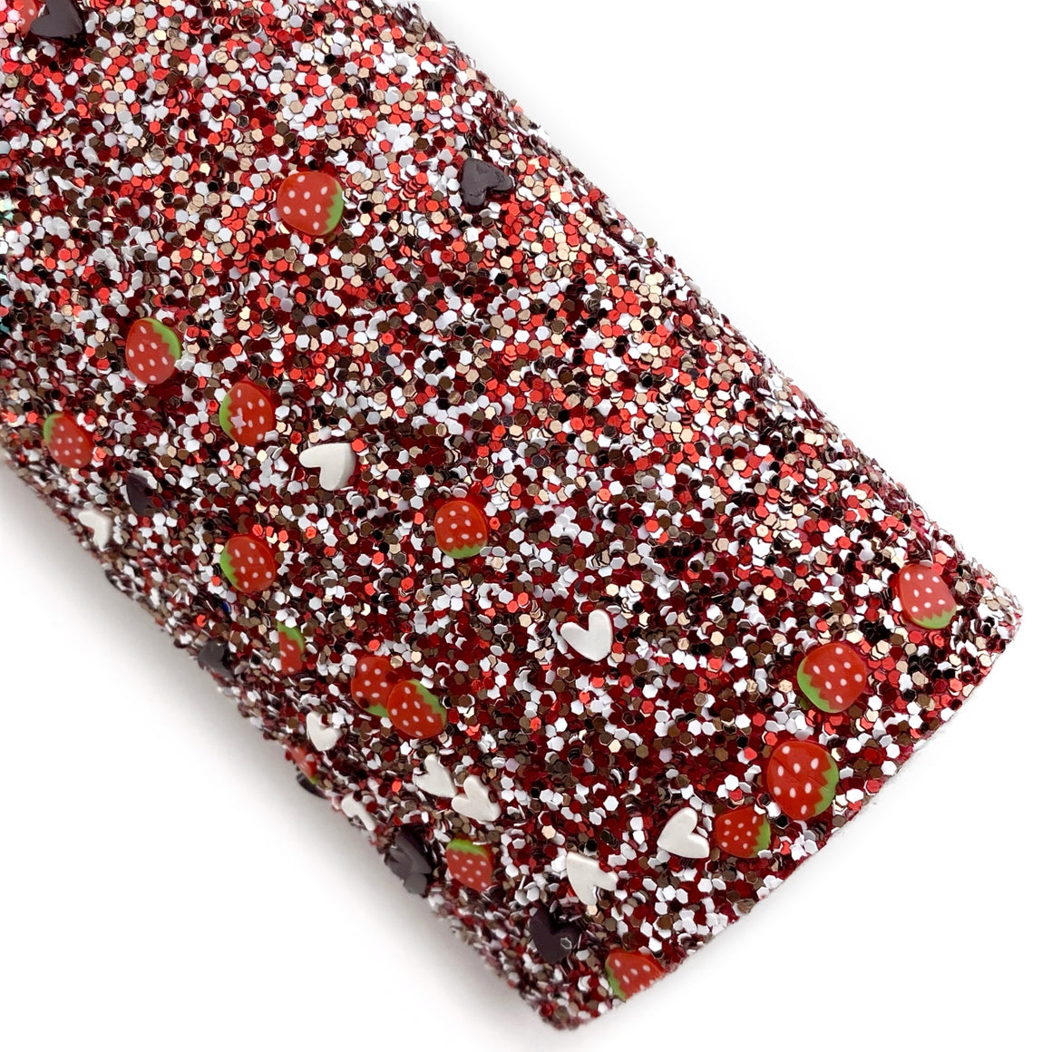 Chocolate Covered Strawberry Pieces Glitter