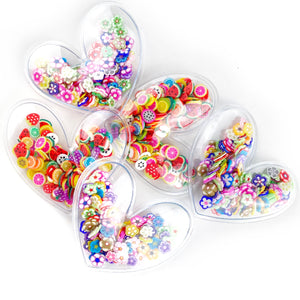 "Set of 3 Heart Shaker ""Sprinkle of"""