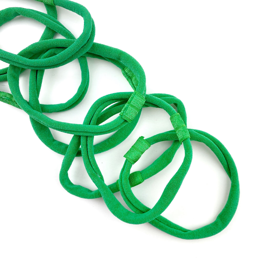 Green Nylon Interchangeable Headband