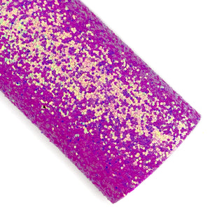 Bittersweet Purple Two-Tone Iridescent Chunky Glitter