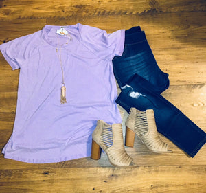 """Cool In Lavender"" Top"