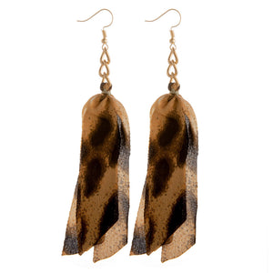 Animal Tassel Earring