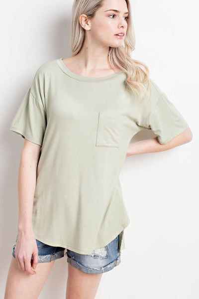 """T-Shirt Staple"" Top"