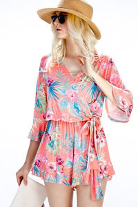 """Tropic Like It's Hot"" Romper"