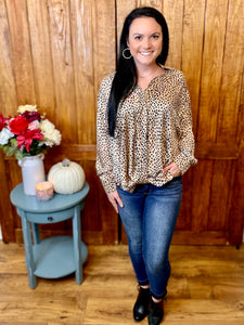 Briley Leopard Top