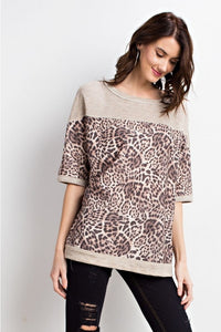 """Animal Instinct"" Oversized Top"