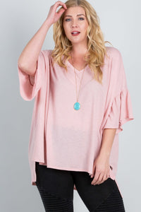 """Sheer Breeze"" Loose Fit Top"