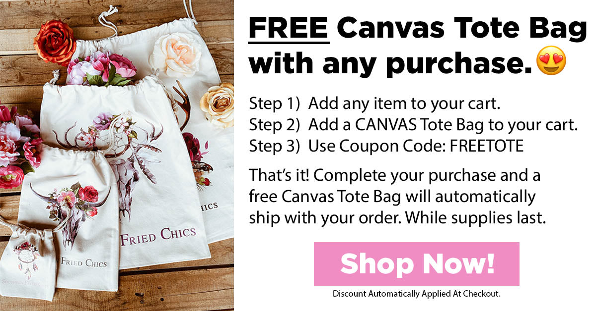 Free Canvas Tote Bag Offer