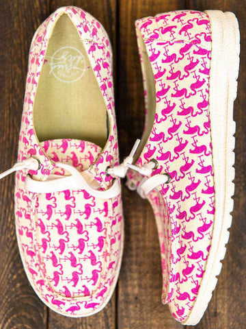 Howdy Chic Loafers - Flamingo