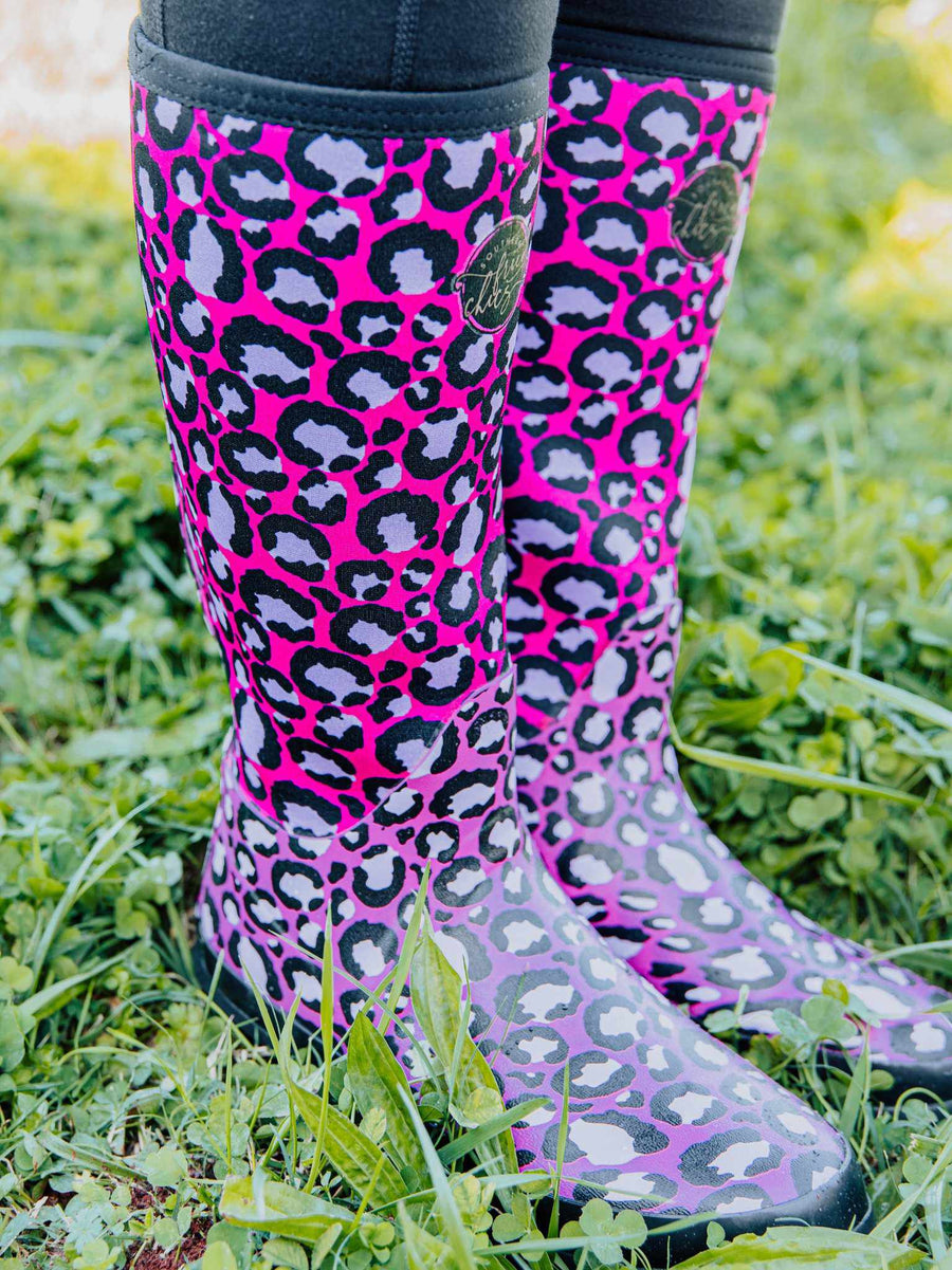 Pretty In Pink Leopard Boot