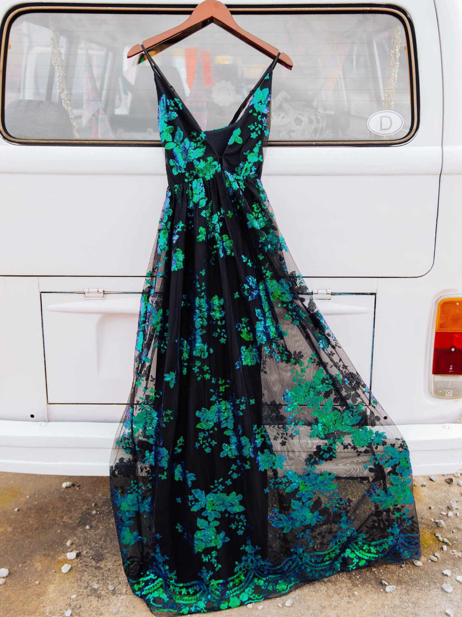 The Philomena Dress - Peacock-Dresses-Southern Fried Chics
