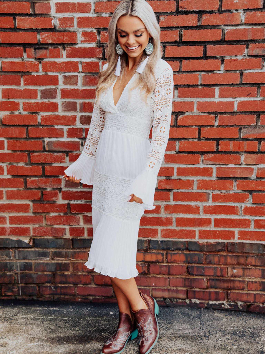 Remember The Romance Midi Dress-Dresses-Southern Fried Chics