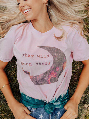 Stay Wild Moon Child Tee