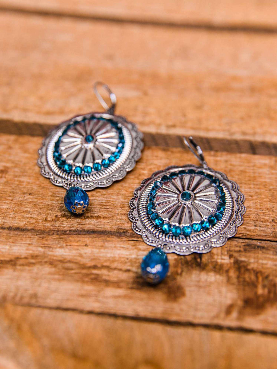 Gladiator Chic Earrings - Antique Silver
