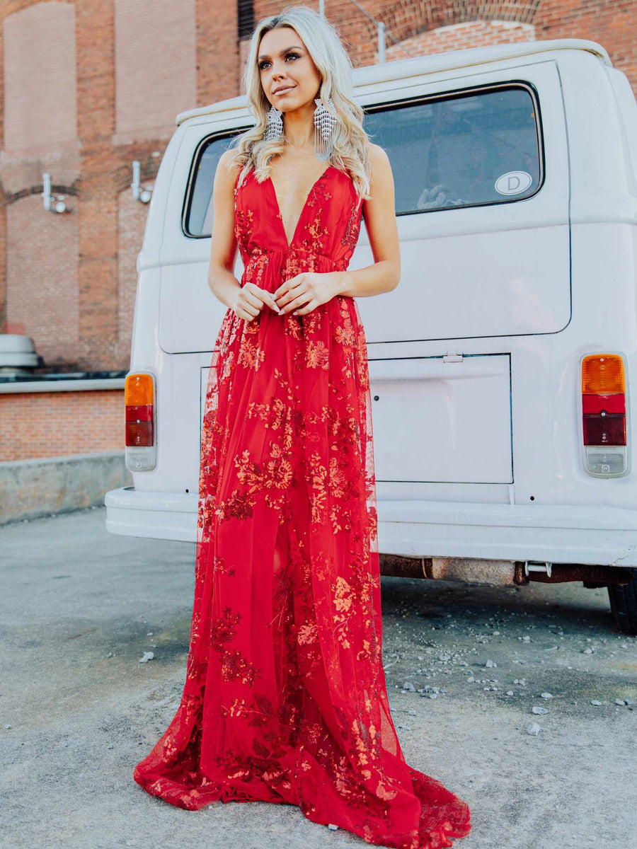The Philomena Dress - Red-Dresses-Southern Fried Chics