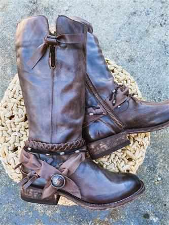 Along For The Ride Boot Riding Boot-Southern Fried Chics