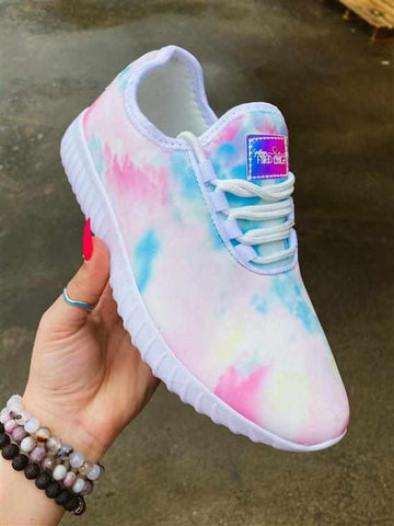 SFC Cotton Candy Tie Dye Sneaker-Southern Fried Chics