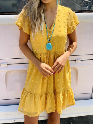 Ray Of Sunshine Dress-Southern Fried Chics