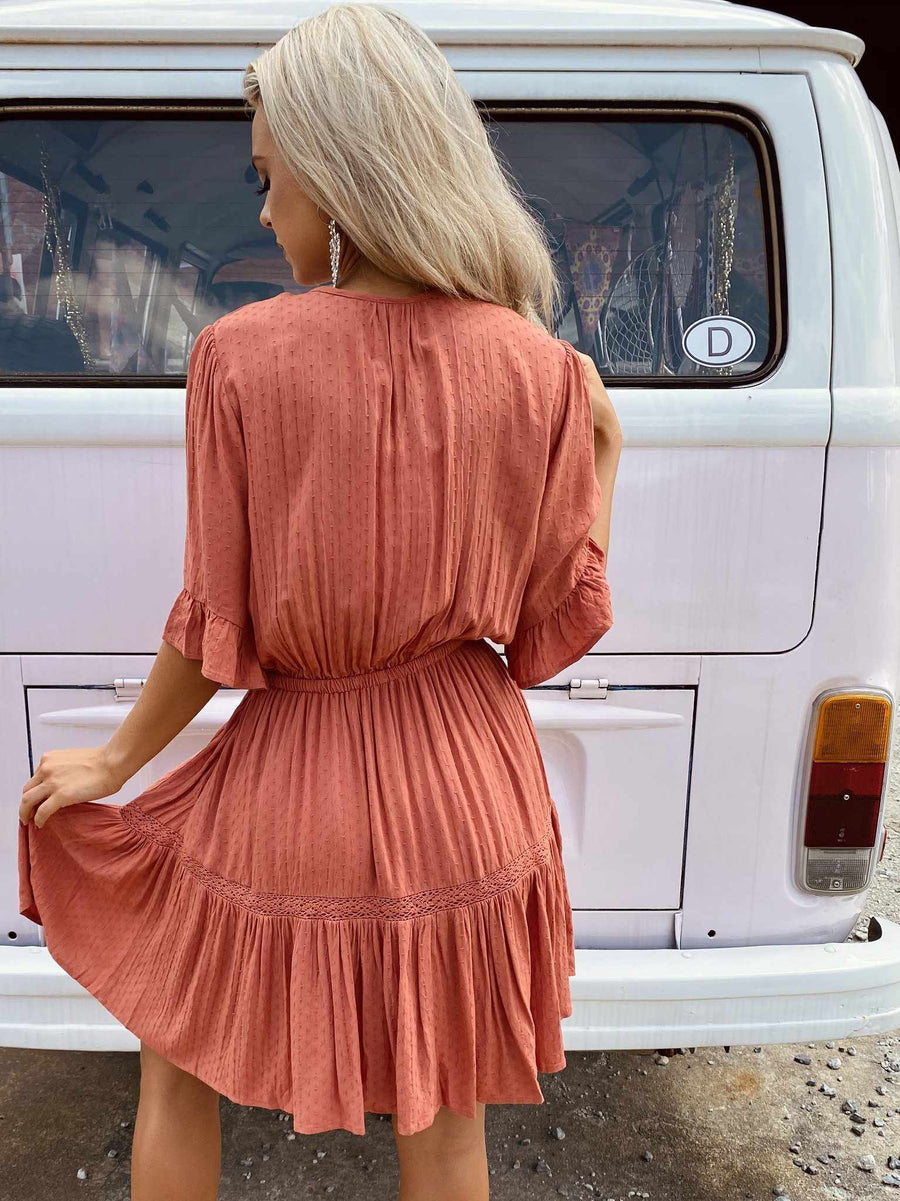 Pockets Full Tunic - Rust-Southern Fried Chics