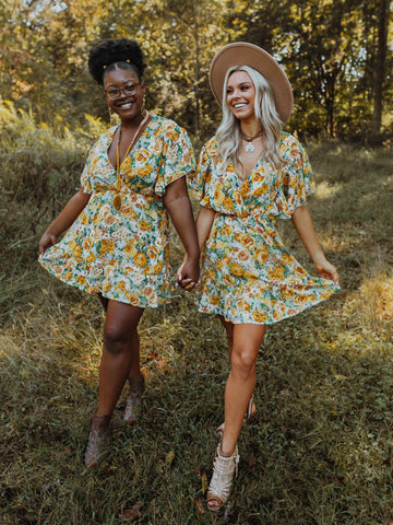 Southern Delight Dress - Yellow