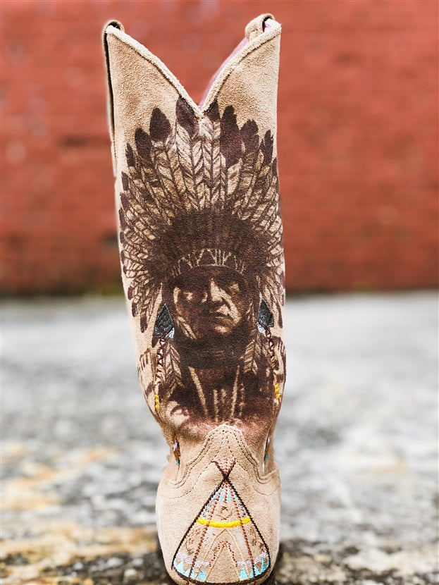 Native American Bohemian Boot by Miss Macie