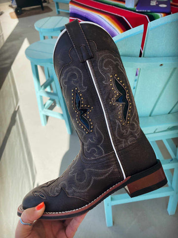 WIDE Spellbound Boots by Laredo - Black Tan