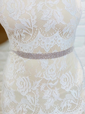 Dazzling Crystal Sash Belt-Southern Fried Chics